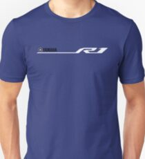Yamaha R1 Design White T-Shirt