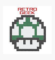 Retro Geek - One Up Photographic Print
