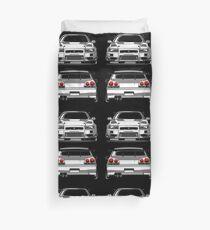 Nissan GTR R34 Duvet Cover