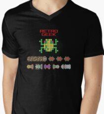 Retro Geek - Frogger Mens V-Neck T-Shirt