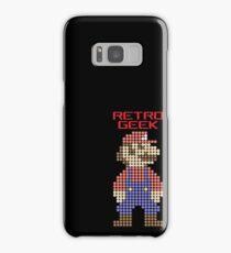Retro Geek - Mario Samsung Galaxy Case/Skin