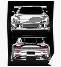 Mazda RX7 FD Poster