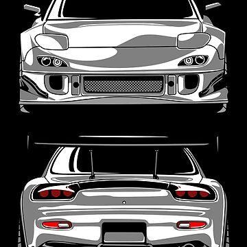 Mazda RX7 FD by artisa