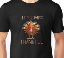 Little Miss Thankful Unisex T-Shirt