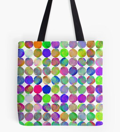 Space snowballs #fractal art Tote Bag