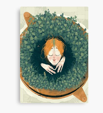 Persephone Sprout Canvas Print