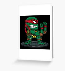 Irish Ninja Greeting Card