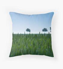 Field and Farmland Throw Pillow