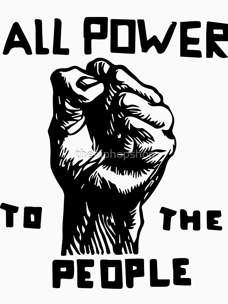 All Power To The People by thehiphopshop