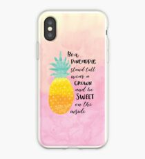 Be a Pineapple iPhone Case