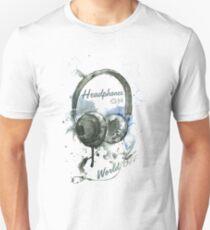 World in Headphones Unisex T-Shirt