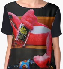 Dont Drink And Drive Chiffon Top