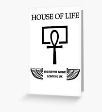 House of Life, London Nome Greeting Card