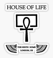 House of Life, London Nome Sticker