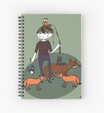 Boys Day Out Spiral Notebook