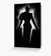 Gaga // Fierce Greeting Card
