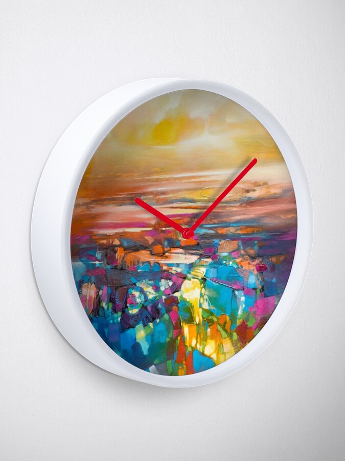 Alternate view of Chromodynamics 1 Clock