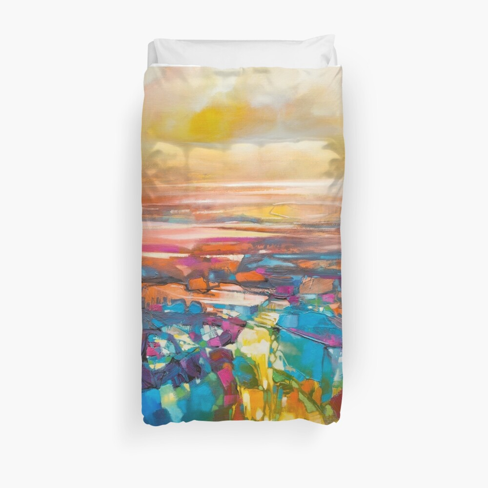 Chromodynamics 1 Duvet Cover