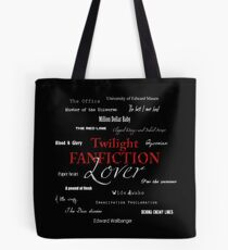 Twilight fanfiction lover Tote Bag