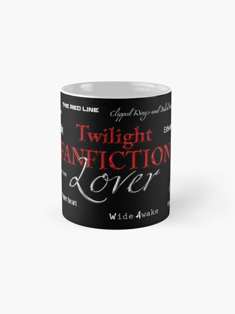 Vista alternativa de Taza estándar Twilight fanfiction lover