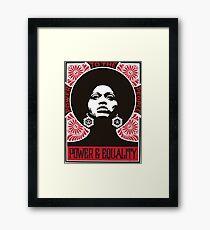 Power & Equality Framed Print