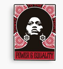 Power & Equality Canvas Print