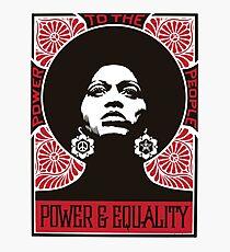 Power & Equality Photographic Print