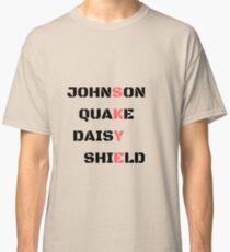 Camiseta clásica Agentes de SHIELD Código Skye