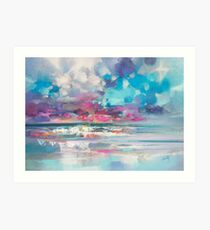 Atlantic Magenta Art Print