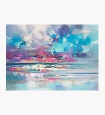 Atlantic Magenta Photographic Print