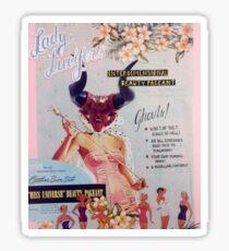Lady Lucifer's Interdimensional Beauty Pagent Sticker