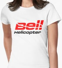 BELL HELICOPTER TEXTRON Womens Fitted T-Shirt
