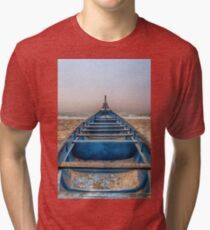 waiting for the sun Tri-blend T-Shirt