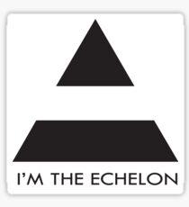 ECHELON Sticker