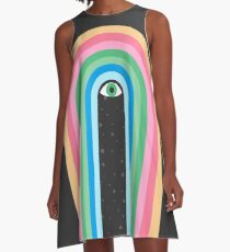 Galaxy Tears A-Line Dress