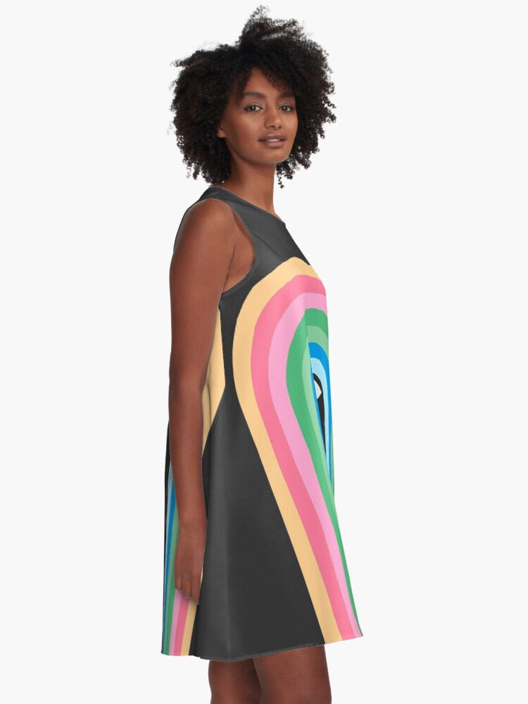 Alternate view of Galaxy Tears A-Line Dress