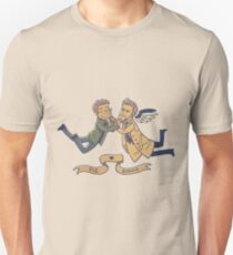 Dean and Cas - Pie and Burger T-Shirt