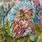 Owlet by Cheryle  Bannon