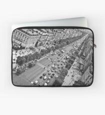 Avenue des Champs-Élysées Laptop Sleeve