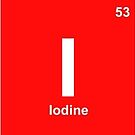 'Infinite' periodic table elements red by flashman