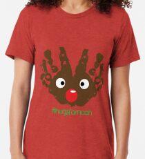 #HugsForNoah Rudolph Christmas Jumper Tri-blend T-Shirt