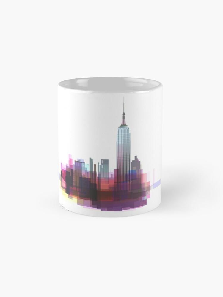 Vista alternativa de Taza estándar Nueva York, ciudad de Nueva York
