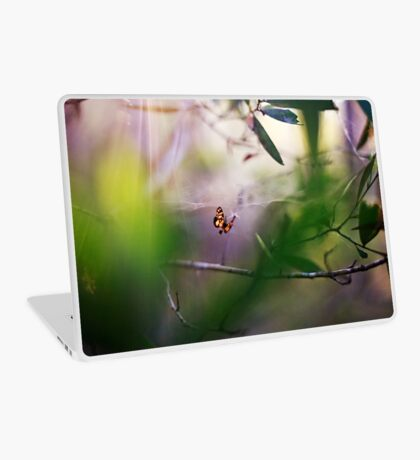 Will you step into my parlour? Laptop Skin