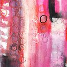 Circles abstract by Carolynne