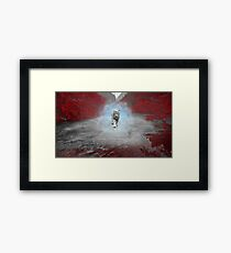 Mystical Tiger - Fantasy Artwork Framed Print