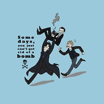 Sherlock Bomb by taconaco