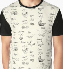 The Chemistry of Food Graphic T-Shirt