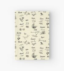 The Chemistry of Food Hardcover Journal
