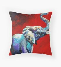 Majestic Champion by artist Thomas Andrew Throw Pillow