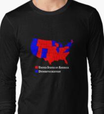 Hillary - Dumbfuckistan vs Donald Trump - United States Shirt Long Sleeve T-Shirt
